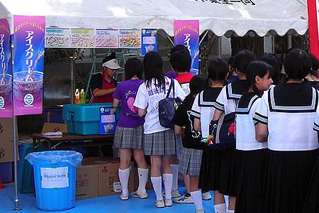 文化祭・学園祭の出し物・出店・模擬店のディッピン・ドッツ